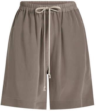Rick Owens Silk Shorts