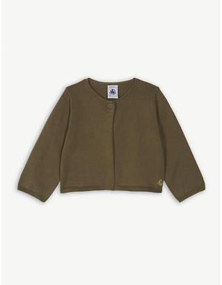 Petit Bateau Knitted cotton bolero cardigan 6-36 months