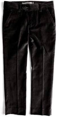 Appaman Velvet Tuxedo Pants, Black, Size 2T-14