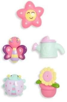 Elegant Baby Five-Piece Springtime Party Bath Squirties Set