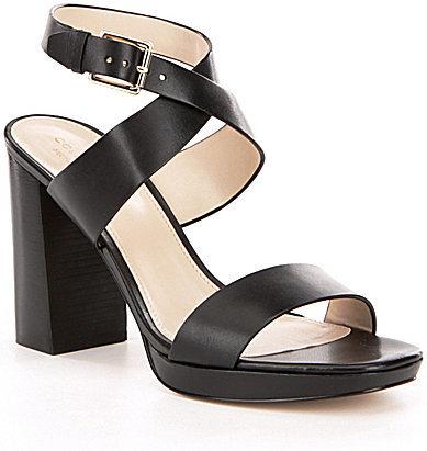 Cole Haan Cole Haan Fenley High Platform Leather Sandals
