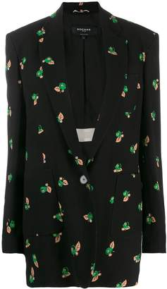 Rochas floral print blazer