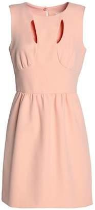 Milly Cressida Cutout Cady Mini Dress