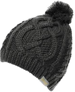 Golddigga Womens Cable Hat Bobble