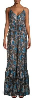 Lanvin Embroidered Maxi Dress