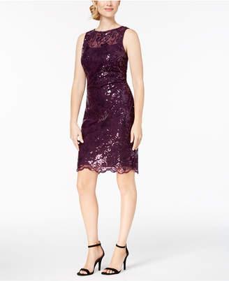 Calvin Klein Sequin Sheath Dress