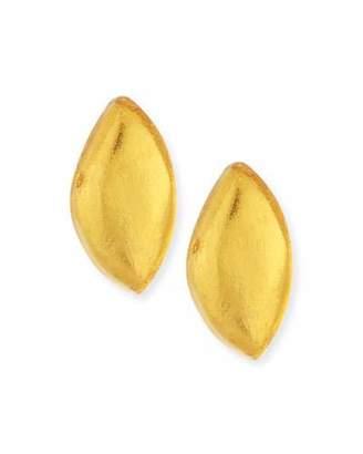 Viktoria Hayman Laminated Gold Foil Petal Earrings