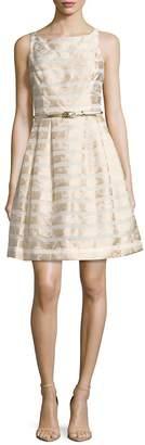 Eliza J Women's Floral Striped Dress