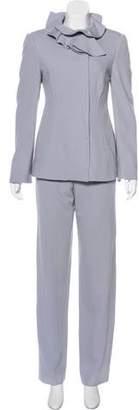 Giorgio Armani Virgin Wool Pantsuit