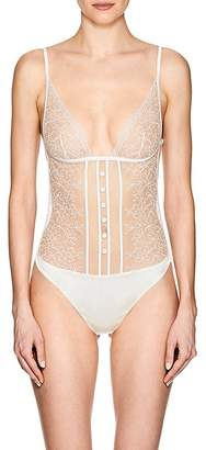 La Perla Women's Marble Mood Lace Bodysuit