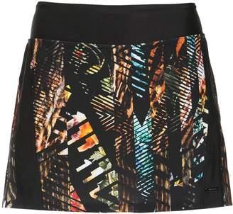 Savana Track & Field printed skirt