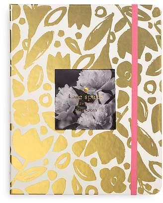 Kate Spade Large 13-Month Agenda - Gold Floral