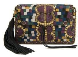 Sam Edelman Saskia Iron Mosaic Box Handbag