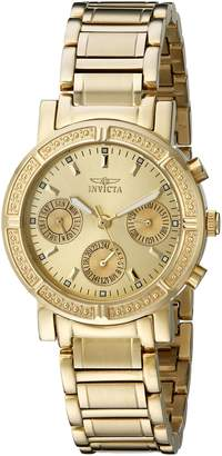 Invicta Women's 14873 Wildflower Dial 18k Ion-Plated Stainless Steel Watch