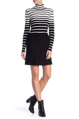 Minnie Rose Merino Wool Blend Mini Skirt