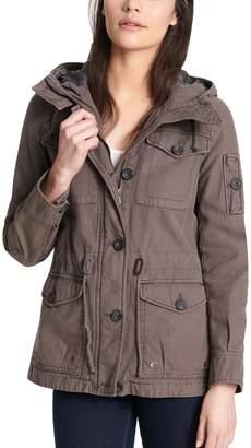 Levi's Levis Women's Hooded Anorak Military Jacket