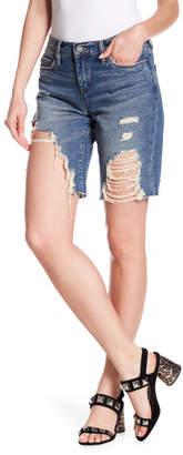 Blank NYC BLANKNYC Heavy Decon Distressed Denim Shorts