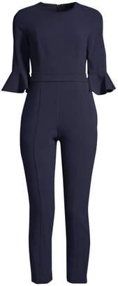 Black Halo Brooklyn Bell-Sleeve Jumpsuit