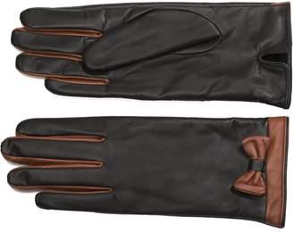 Moda Women's Ms. Oslo Women's Fashionable Warm Winter Leather Gloves
