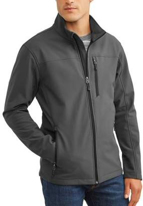 Swiss+Tech Men's Softshell Jacket Up To Size 5Xl