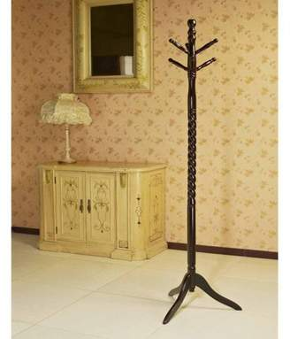 Generic Home Craft Wooden Coat/Hat Rack Stand, Multiple Colors