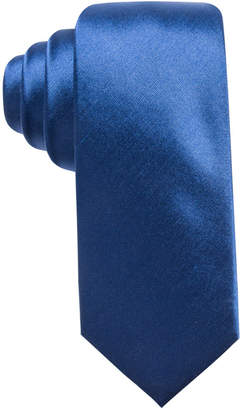 Alfani Men Solid Silk Slim Tie