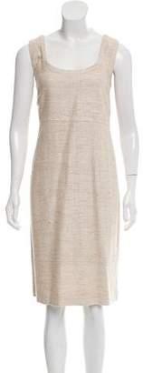 Akris Punto Silk Knee-Length Dress
