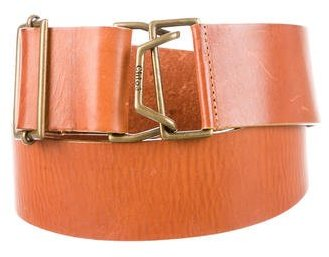 Chloé  Chloé Leather Waist Belt