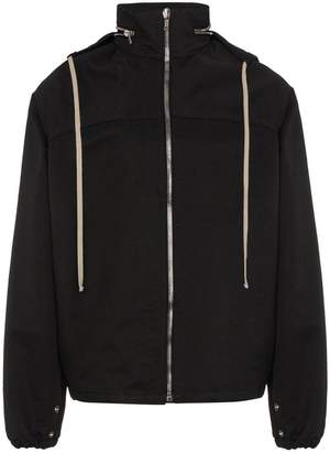 Rick Owens hooded zip jacket