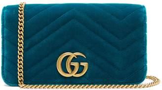 Gucci Marmont GG velvet mini bag