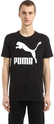 Puma Select Archive Logo Cotton Jersey T-Shirt
