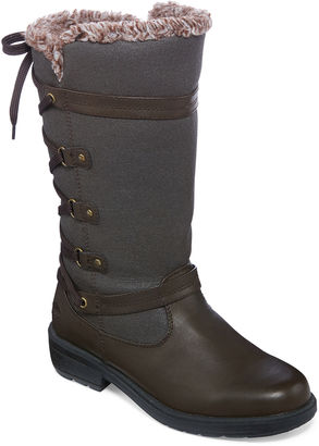 Totes Mona II Lace Back Winter Boots $69.99 thestylecure.com
