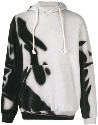 Maison Margiela spray paint hoodie