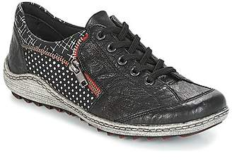 Remonte Dorndorf FAMELA women's Shoes (Trainers) in Black