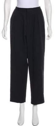 J.W.Anderson High-Rise Straight-Leg Pants