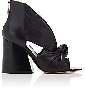 Maison Margiela WOMEN'S KNOTTED-VAMP LEATHER SANDALS