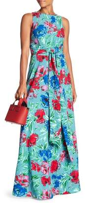 Eva Franco Clarissa Printed Maxi Dress