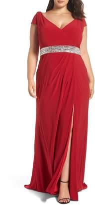 Mac Duggal Mac Dugall Embellished Gown
