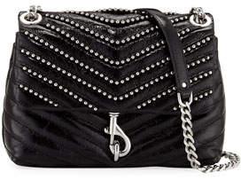Rebecca Minkoff Edie Flap Studded Leather Crossbody Bag