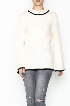Josie Mock Neck Sweater