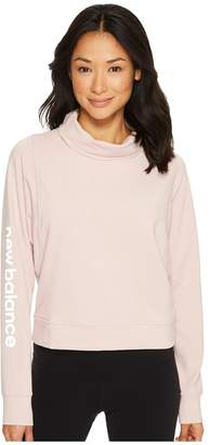 New Balance Funnel Neck Layer Top Women's Sweatshirt