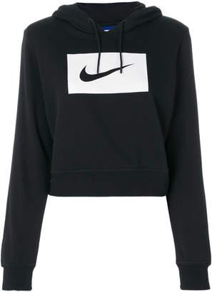 Nike logo hooded sweatshirt
