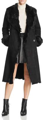 Maximilian Furs Shearling Coat with Toscana Shearling Shawl Collar - 100% Exclusive