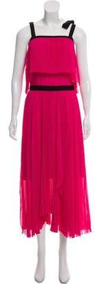 Philosophy di Lorenzo Serafini Pleated Sleeveless Dress