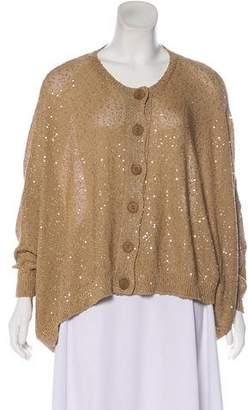 Stella McCartney Sequin Knit Cardigan