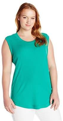Melissa McCarthy Women's Plus Size Survival Basic Tank Top