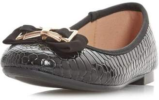 Dorothy Perkins Womens *Head Over Heels By Dune Black Haze Flat Shoes