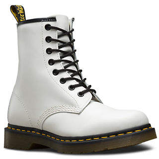Dr. Martens Womens 1460 Lace-Up Leather Boots
