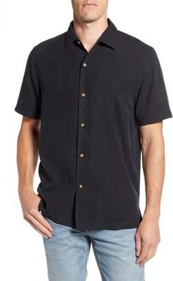 Tommy Bahama Wish Yule Were Here Silk Camp Shirt