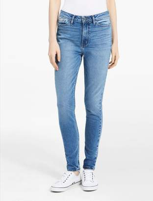 Calvin Klein high waist light wash leggings